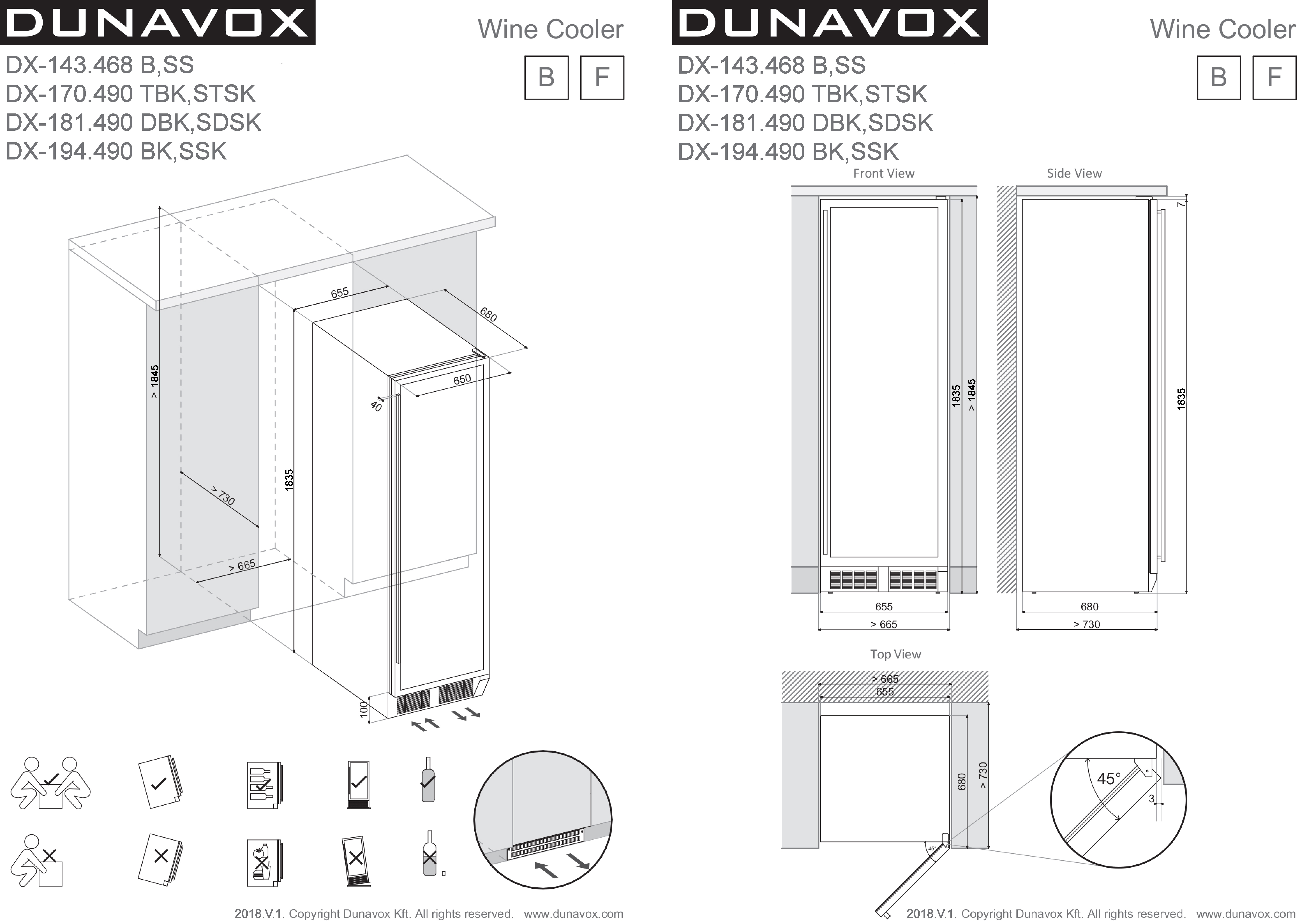 dx-143.468bss-dx-170.490tbkstsk-dx-181.490dbksdsk-dx-194.490bkssk-installation-drawing