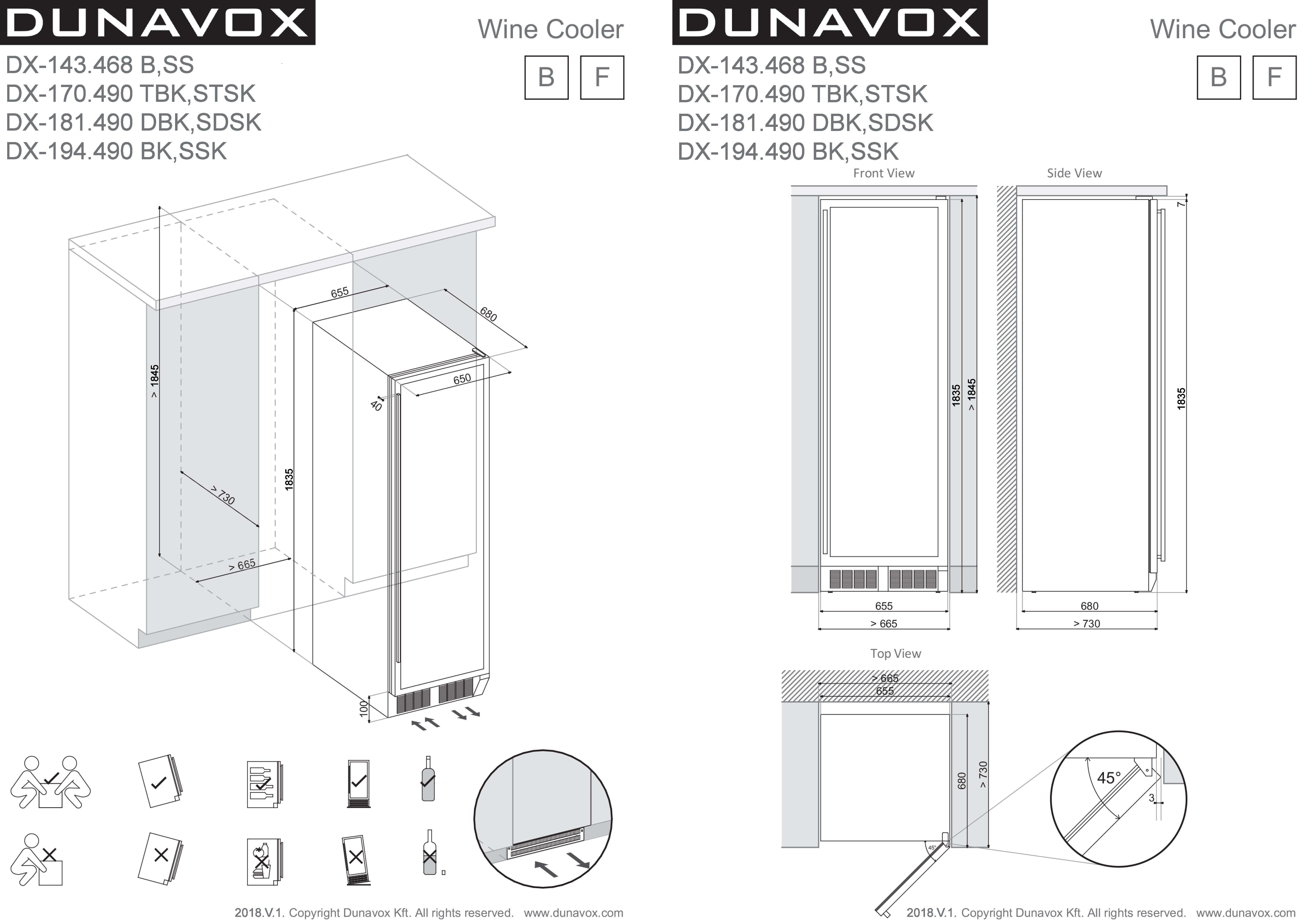 dx-143.468bss-dx-170.490tbkstsk-dx-181.490dbksdsk-dx-194.490bkssk-installation-drawing